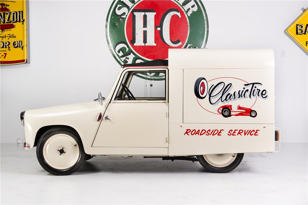 1953 MOCHET CM125Y MICRO PANEL TRUCK - Side Profile - 161773