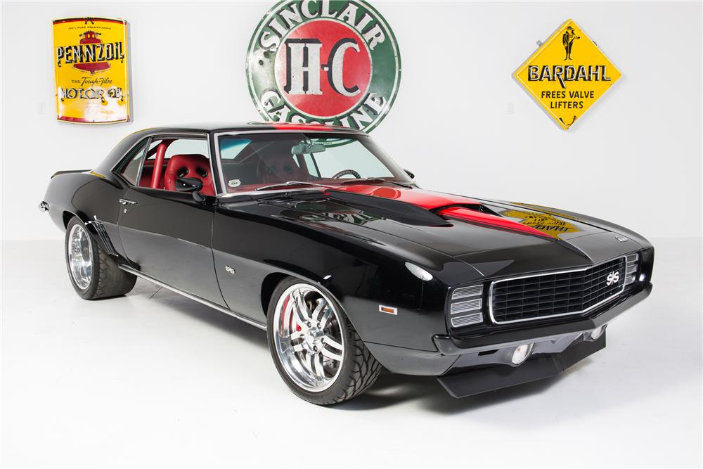 1969 CHEVROLET CAMARO CUSTOM COUPE - Front 3/4 - 161776