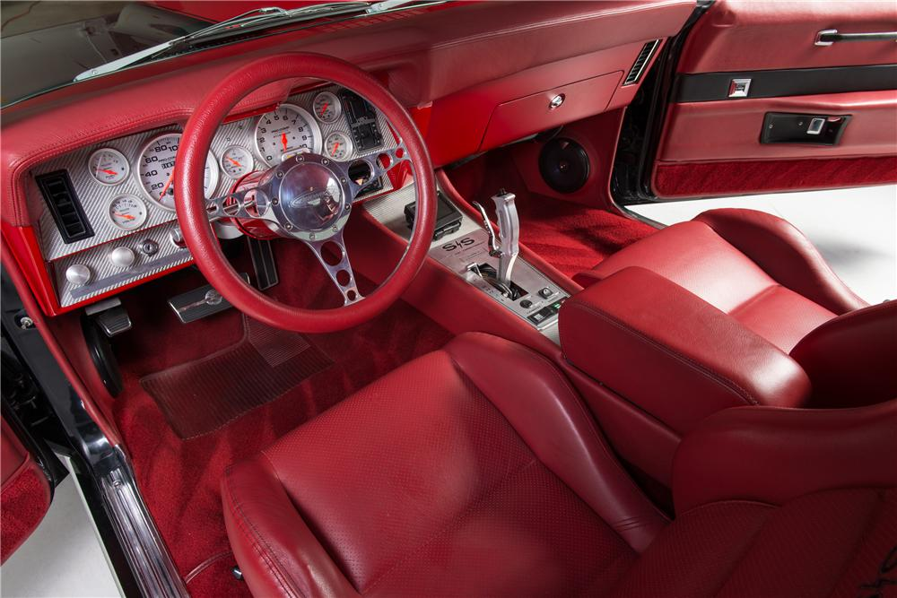 1969 CHEVROLET CAMARO CUSTOM COUPE - Interior - 161776