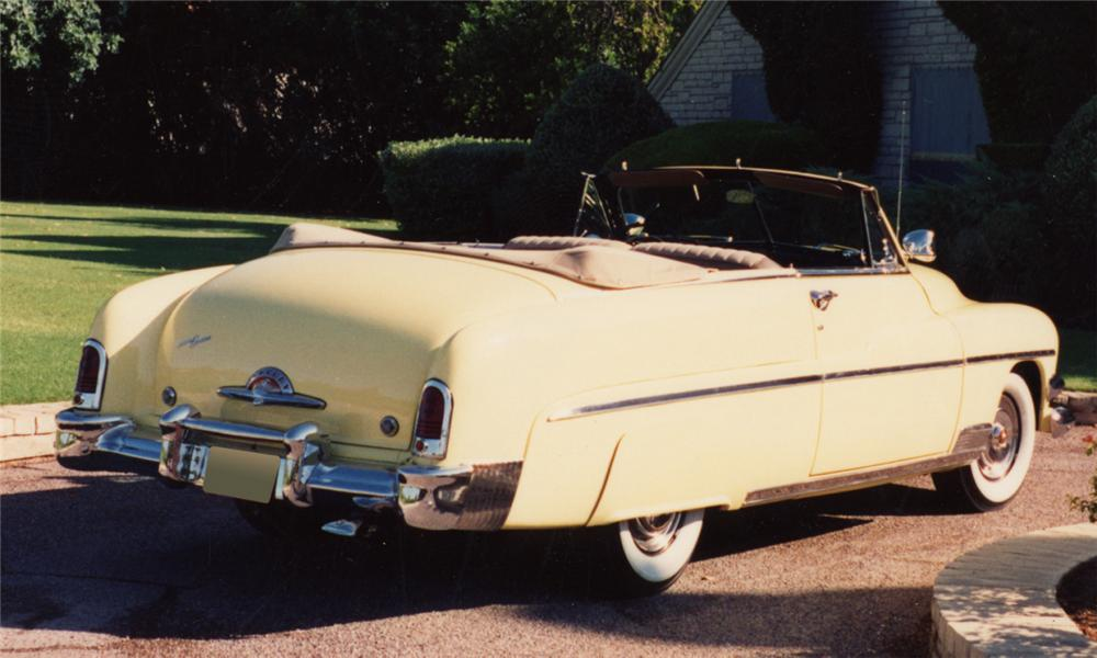 1951 MERCURY MONTEREY CONVERTIBLE - Rear 3/4 - 16178