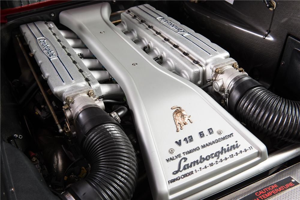 2001 LAMBORGHINI DIABLO 2 DOOR COUPE - Engine - 161781