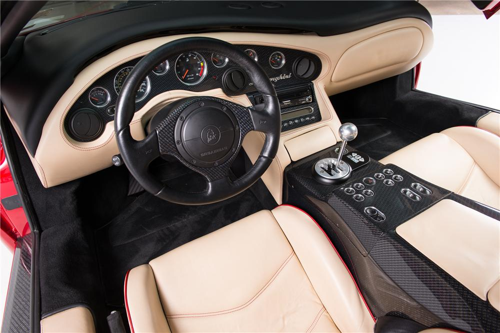 2001 LAMBORGHINI DIABLO 2 DOOR COUPE - Interior - 161781