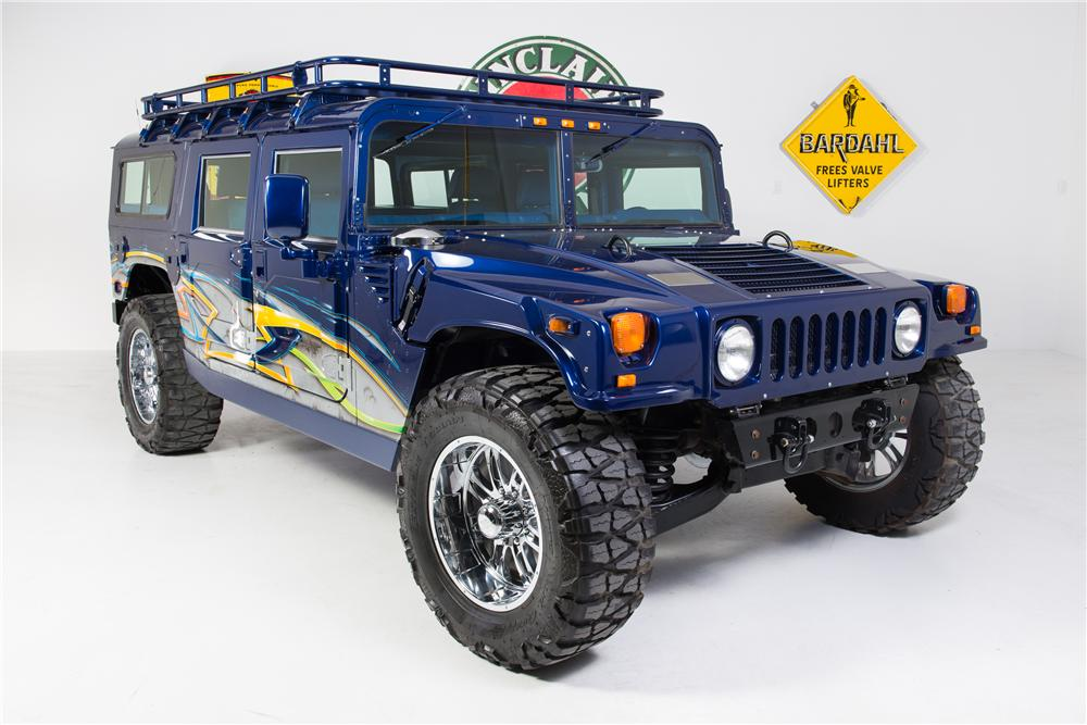 1996 AM GENERAL HUMMER H1 CUSTOM 4 DOOR - Front 3/4 - 161784