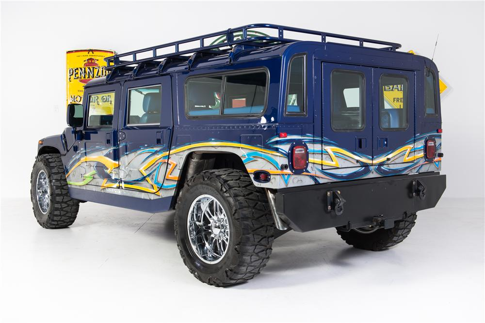 1996 AM GENERAL HUMMER H1 CUSTOM 4 DOOR - Rear 3/4 - 161784