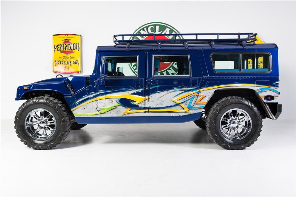 1996 AM GENERAL HUMMER H1 CUSTOM 4 DOOR - Side Profile - 161784