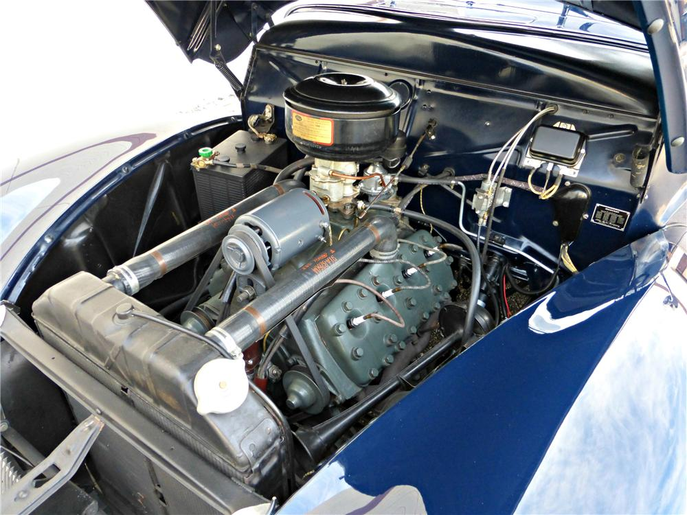 1940 MERCURY CONVERTIBLE - Engine - 161787