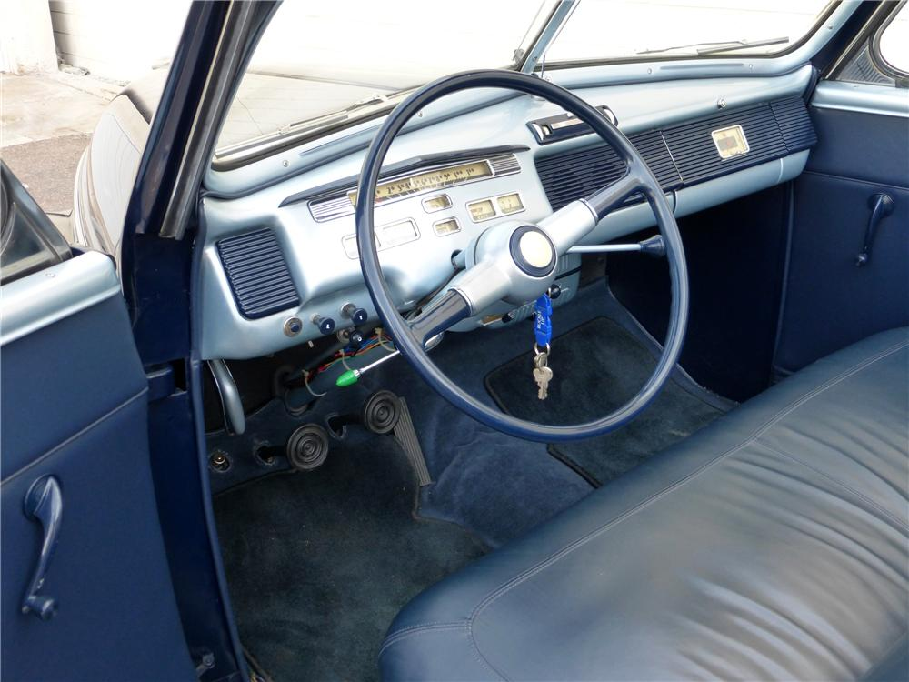 1940 MERCURY CONVERTIBLE - Interior - 161787