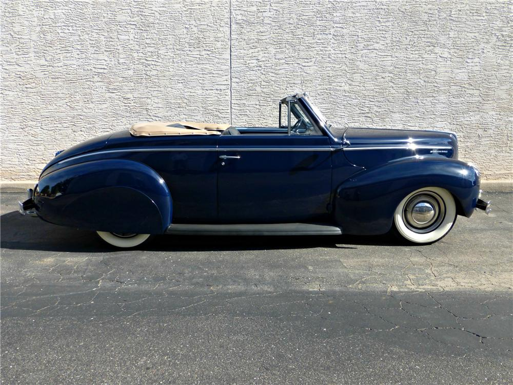 1940 MERCURY CONVERTIBLE - Side Profile - 161787