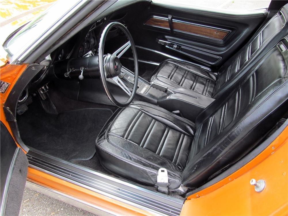 1972 CHEVROLET CORVETTE 2 DOOR COUPE - Interior - 161788