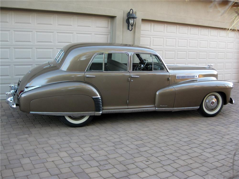 1941 CADILLAC SERIES 60 SPECIAL 4 DOOR SEDAN - Side Profile - 161793