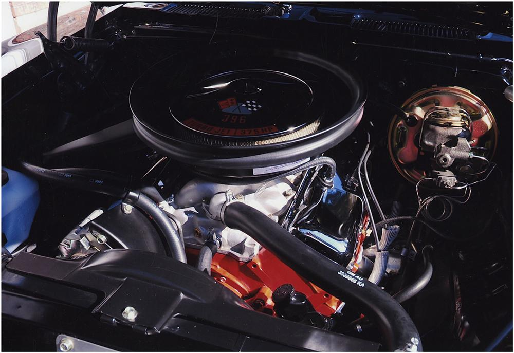 1969 CHEVROLET CAMARO SS 2 DOOR COUPE - Engine - 161798