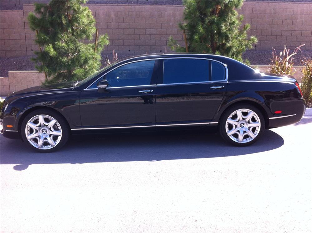 2007 BENTLEY FLYING SPUR 4 DOOR SEDAN - Side Profile - 161806