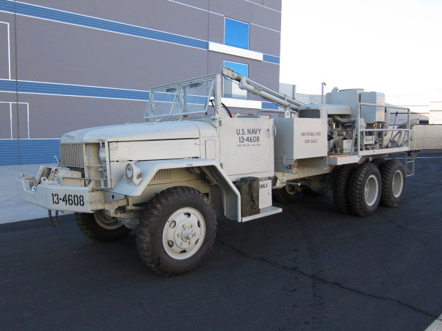 1955 REO M36 C 6X6 MILITARY - Front 3/4 - 161808