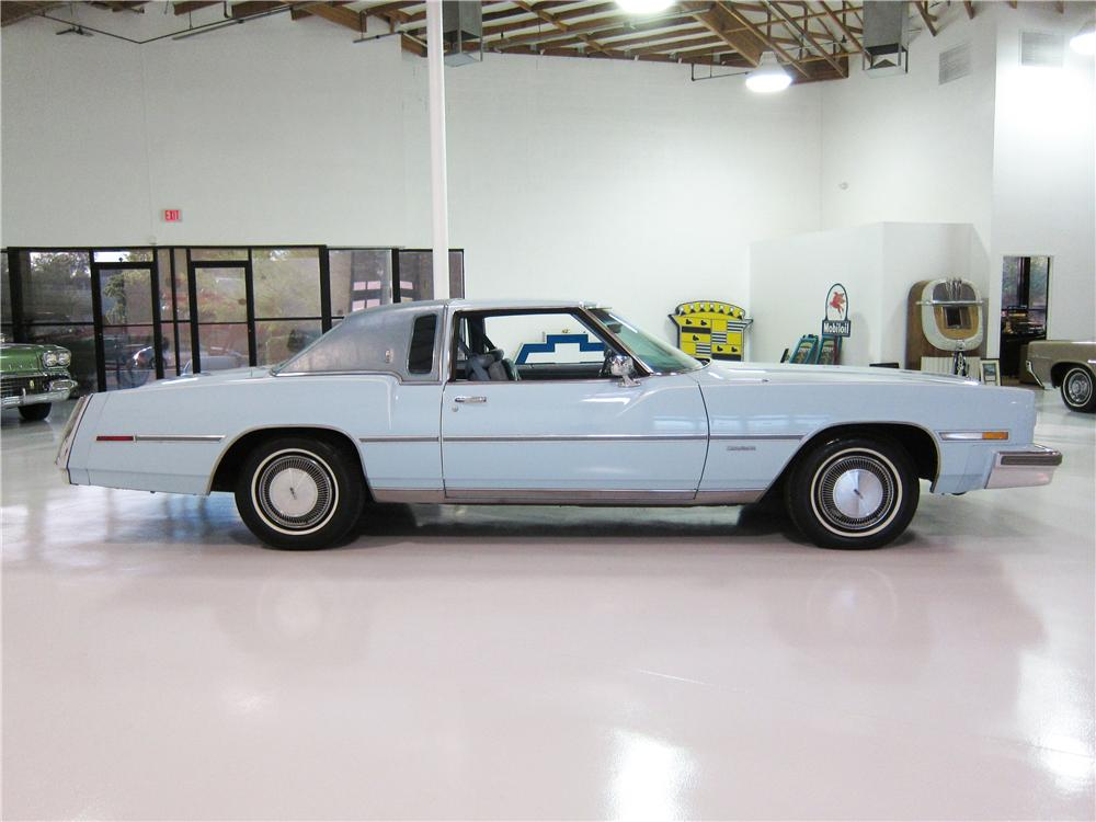 1978 OLDSMOBILE TORONADO 2 DOOR HARDTOP - Side Profile - 161812