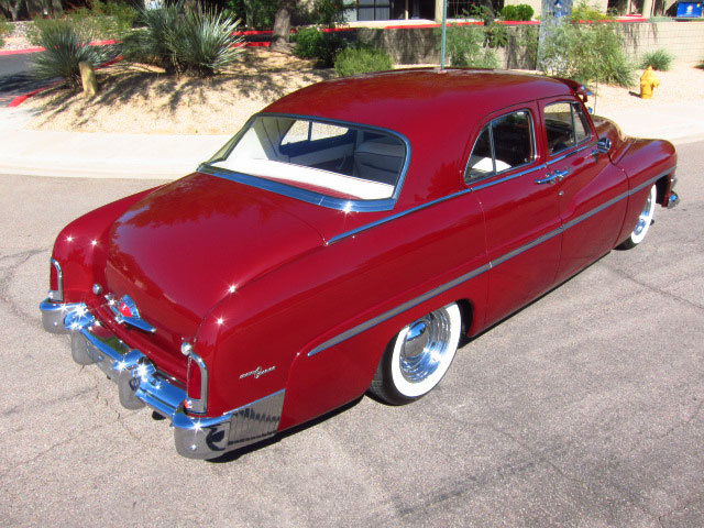 1951 MERCURY CUSTOM 4 DOOR SEDAN - Rear 3/4 - 161815