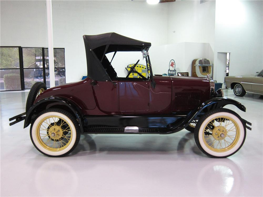 1926 FORD MODEL T ROADSTER - Side Profile - 161817
