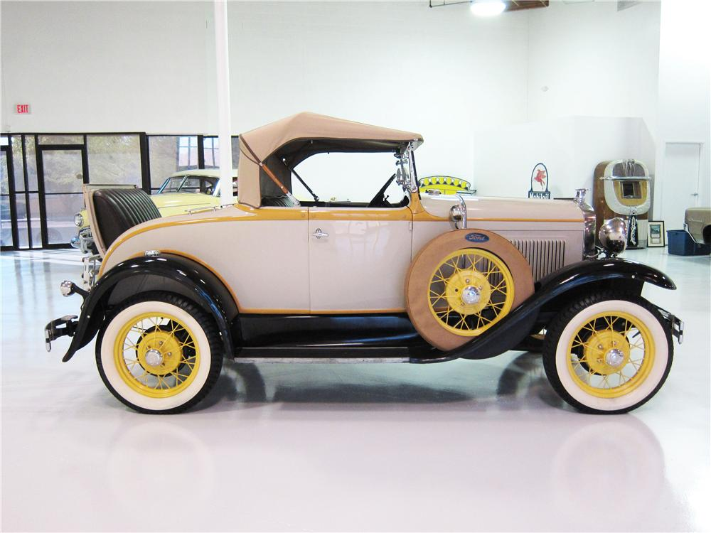 1931 FORD MODEL A ROADSTER - Side Profile - 161818
