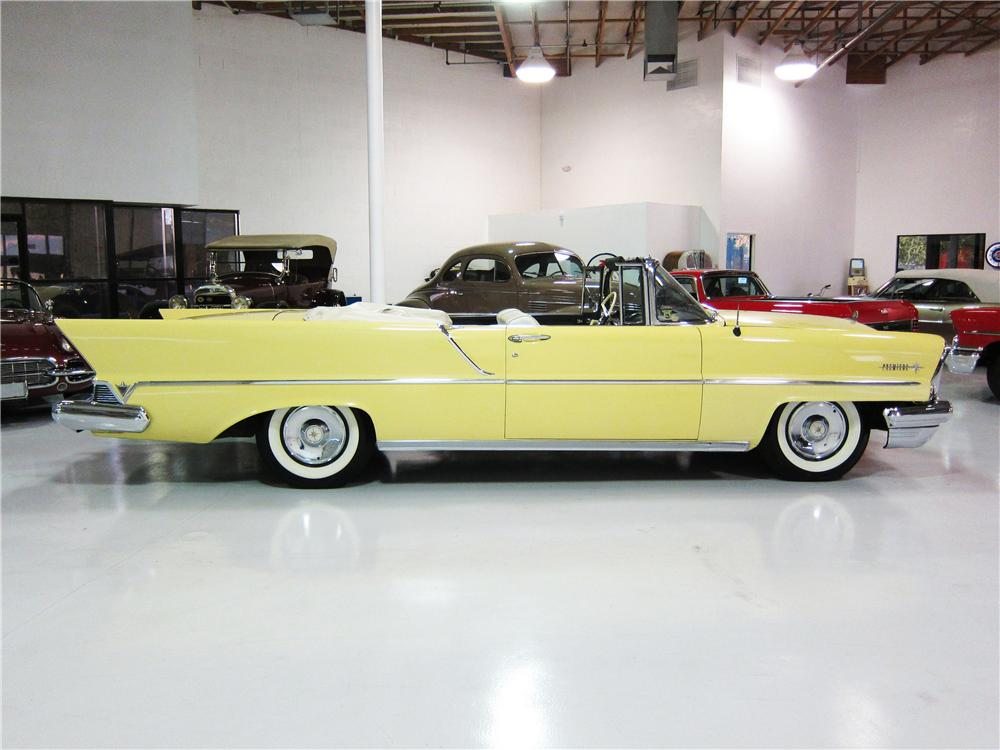1957 LINCOLN PREMIERE CONVERTIBLE - Side Profile - 161819