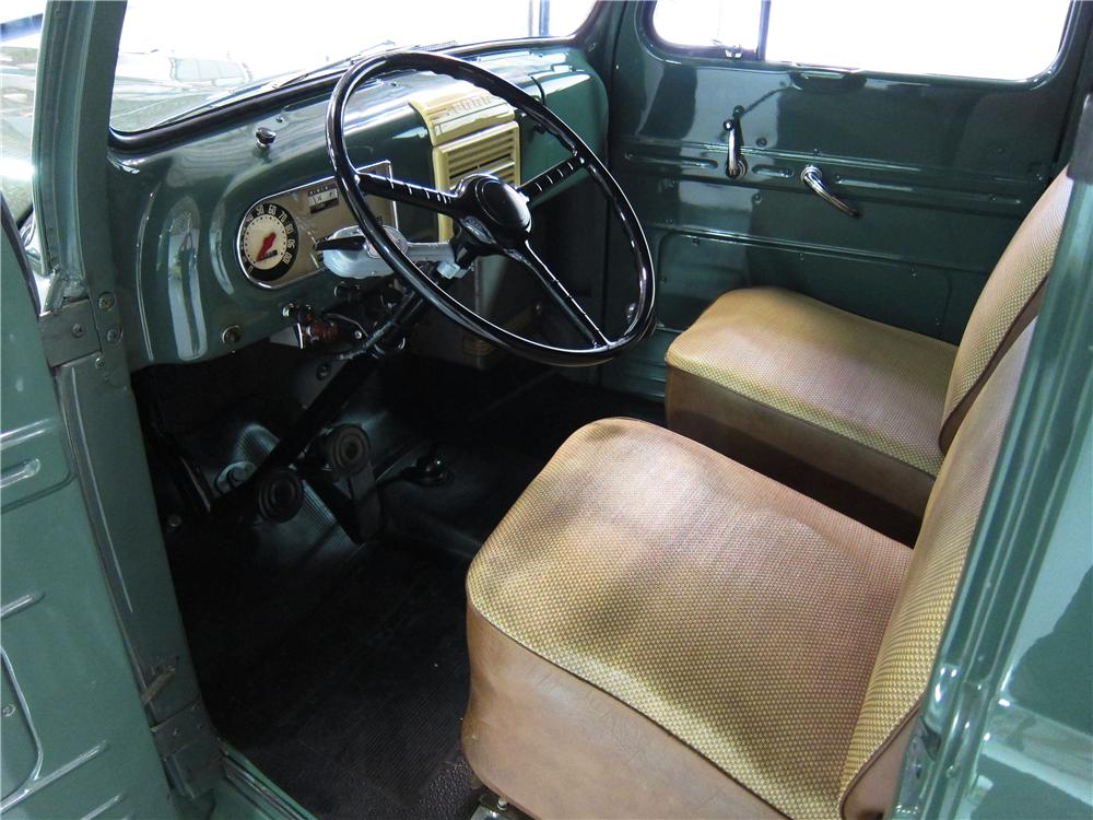 1949 ford f-1 panel truck