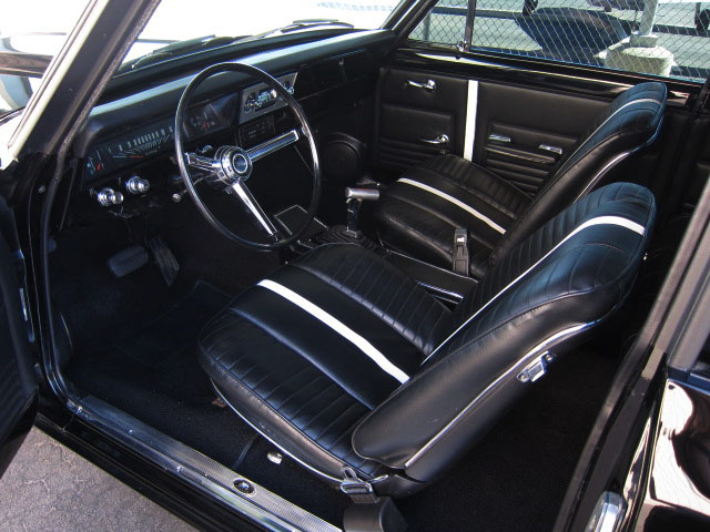 1967 CHEVROLET NOVA CUSTOM 2 DOOR - Interior - 161822