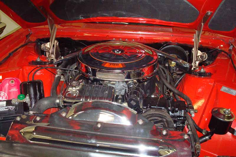 1962 FORD THUNDERBIRD SPORTS ROADSTER - Engine - 161823
