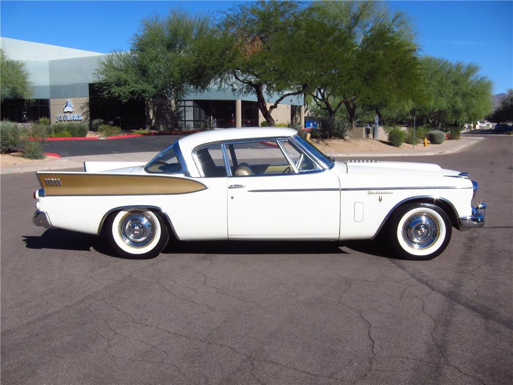 1957 STUDEBAKER GOLDEN HAWK 2 DOOR HARDTOP - Side Profile - 161825