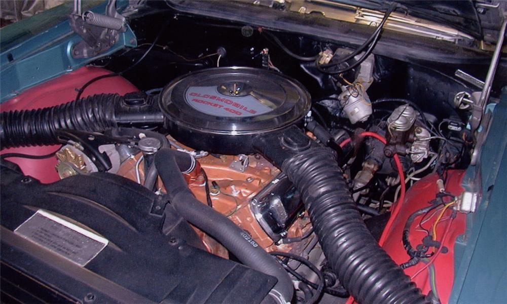 1968 OLDSMOBILE 442 W30 CONVERTIBLE - Engine - 16183