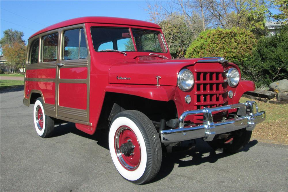 1956 WILLYS JEEP WAGON - Front 3/4 - 161832