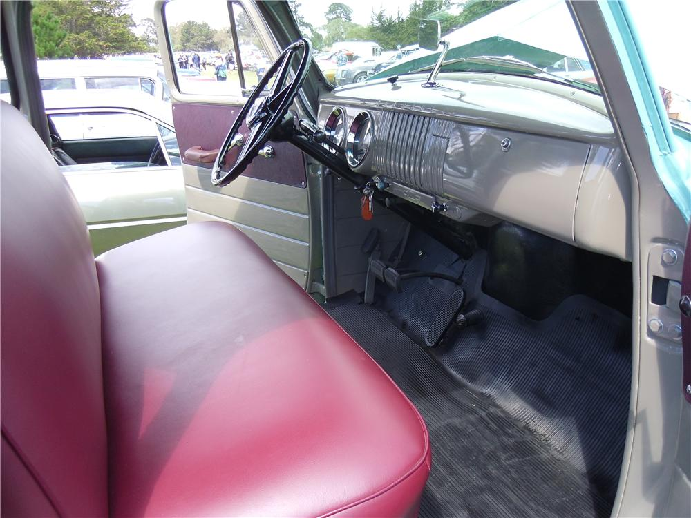 1955 CHEVROLET 3100 PICKUP - Interior - 161833