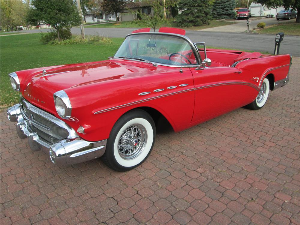 1957 buick century convertible 161838. Black Bedroom Furniture Sets. Home Design Ideas
