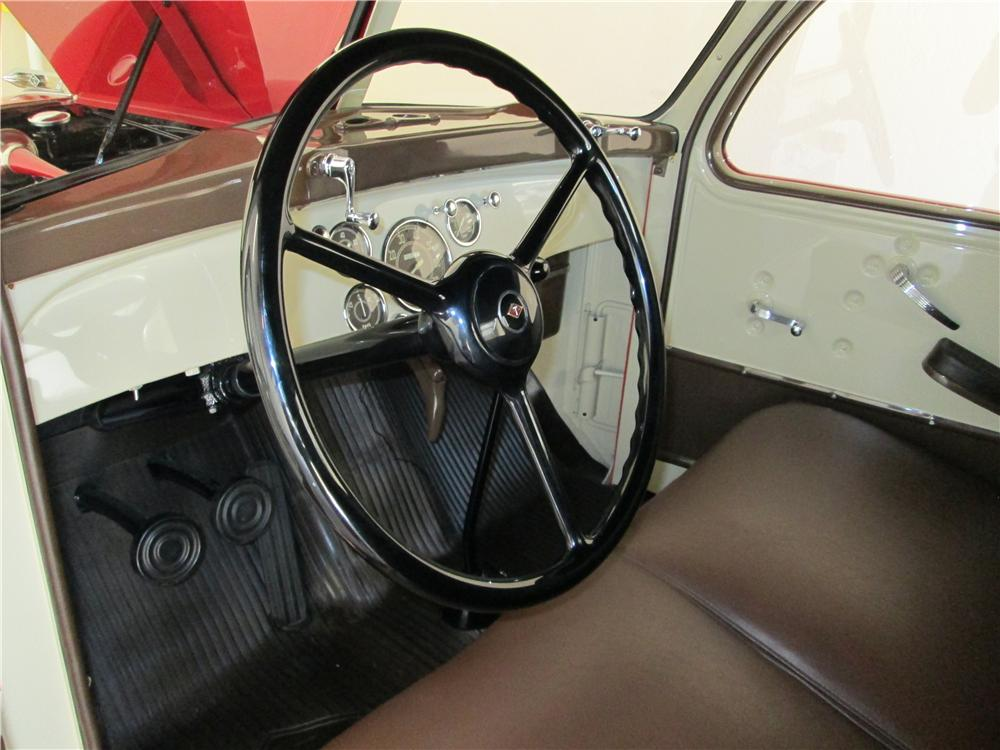 1948 DIAMOND T 201 PICKUP - Interior - 161839