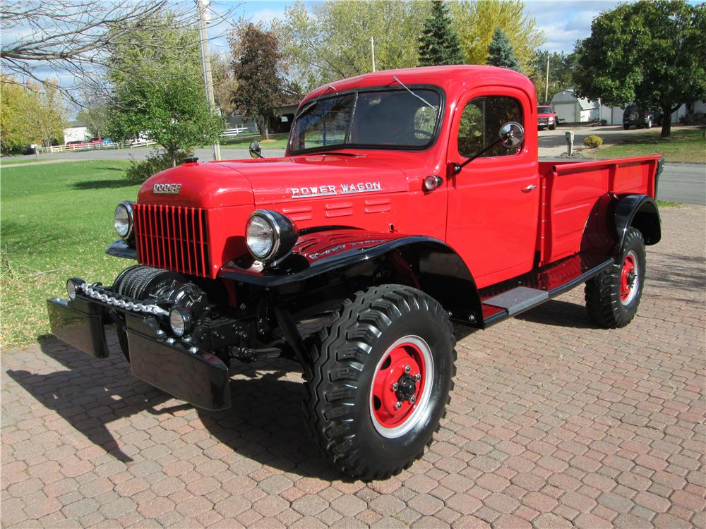 1952 DODGE POWER WAGON PICKUP - Front 3/4 - 161840