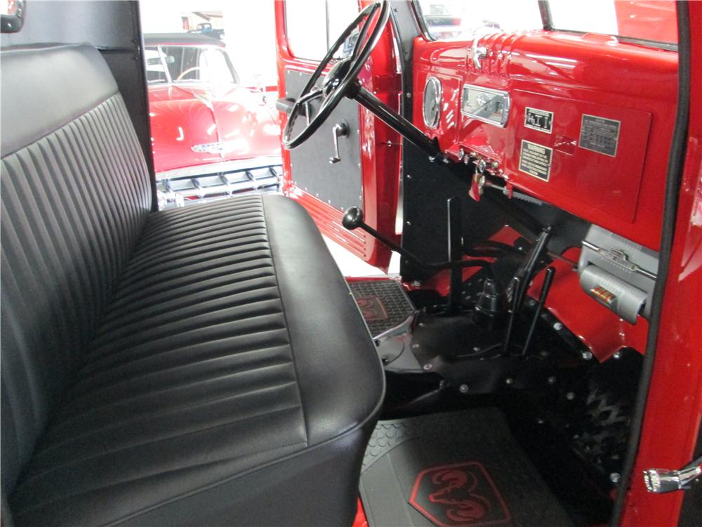 1952 DODGE POWER WAGON PICKUP - Interior - 161840