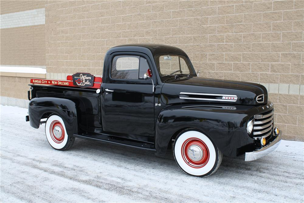 1950 ford f 1 pickup 161844. Black Bedroom Furniture Sets. Home Design Ideas