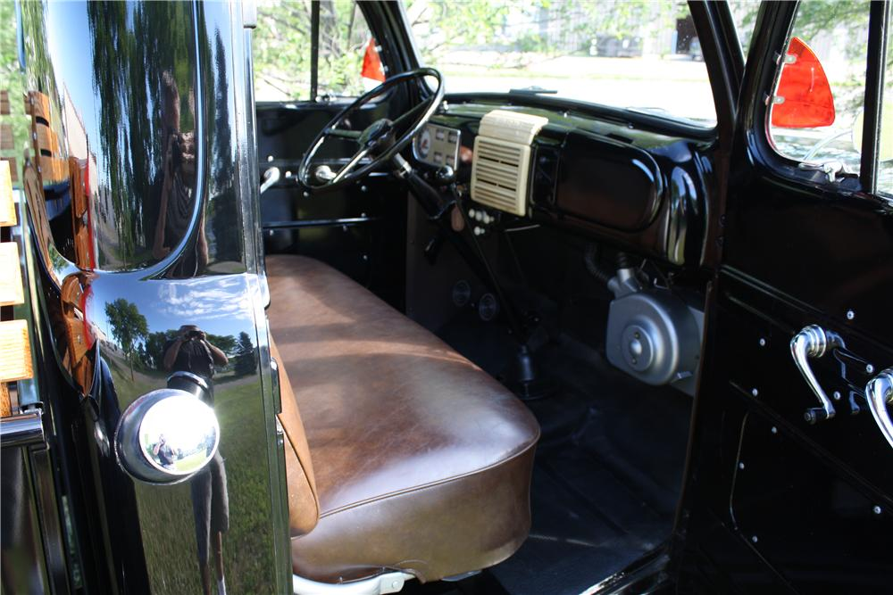 1950 FORD F-1 PICKUP - Interior - 161844