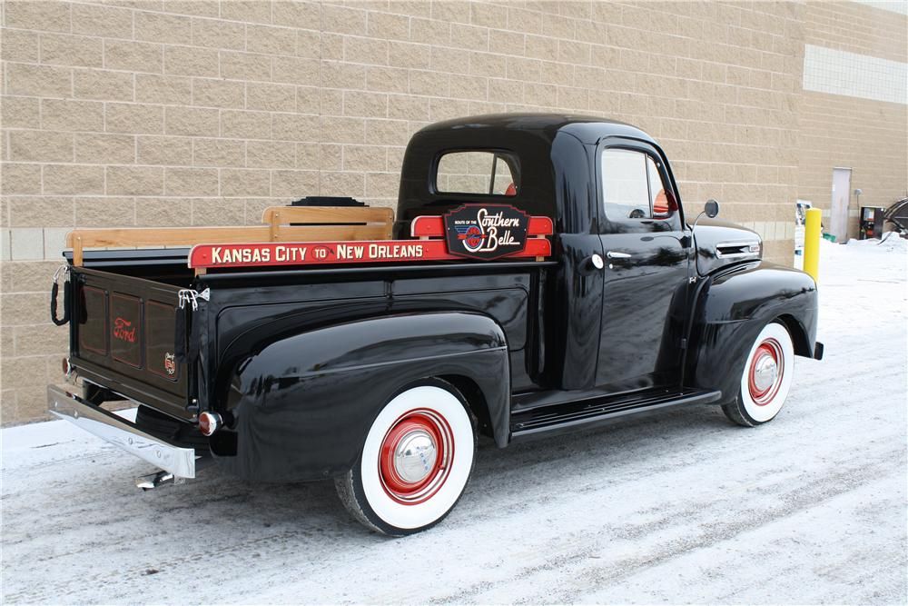 1950 FORD F-1 PICKUP - Rear 3/4 - 161844