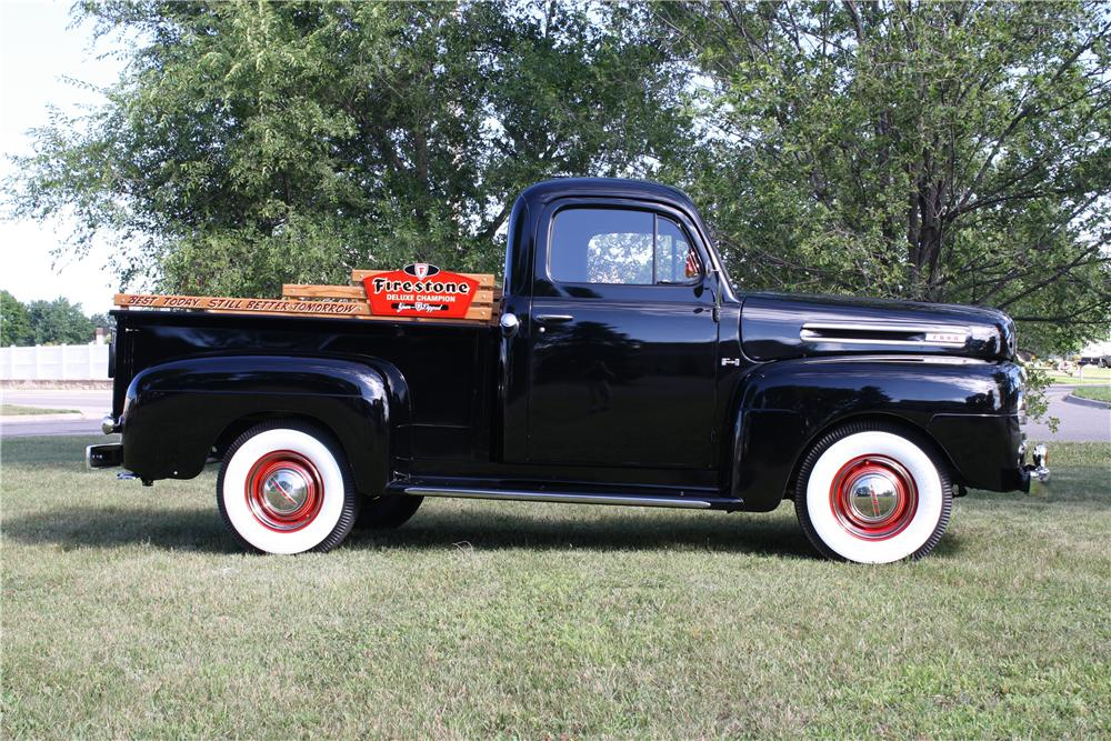 1950 FORD F-1 PICKUP - Side Profile - 161844