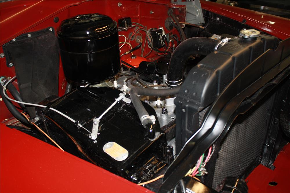 1951 PLYMOUTH CRANBROOK CONVERTIBLE - Engine - 161849