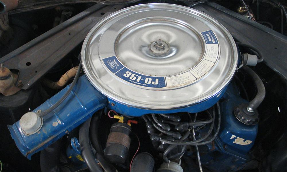 1972 FORD MUSTANG COUPE - Engine - 16185