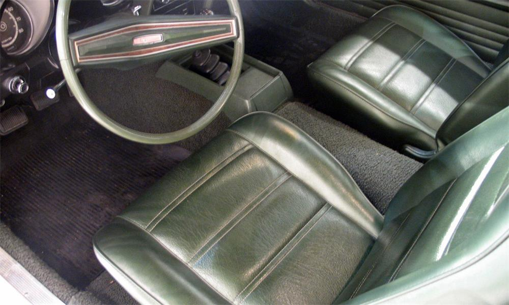 1972 FORD MUSTANG COUPE - Interior - 16185