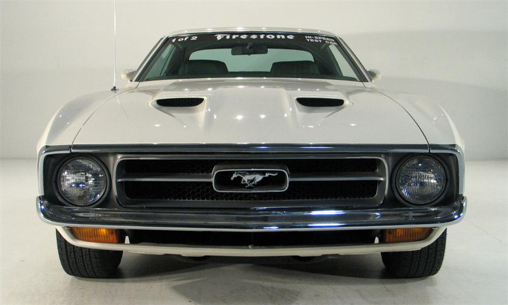1972 FORD MUSTANG COUPE - Side Profile - 16185