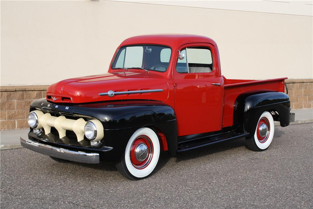 1952 FORD F-1 PICKUP - Front 3/4 - 161851