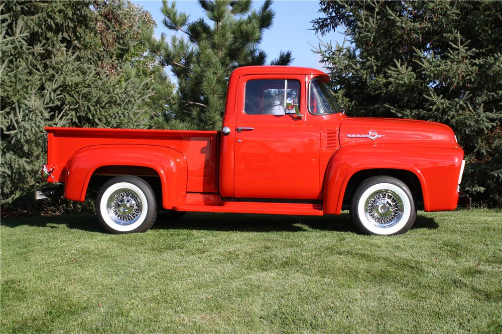 1956 FORD F-100 PICKUP - Side Profile - 161853