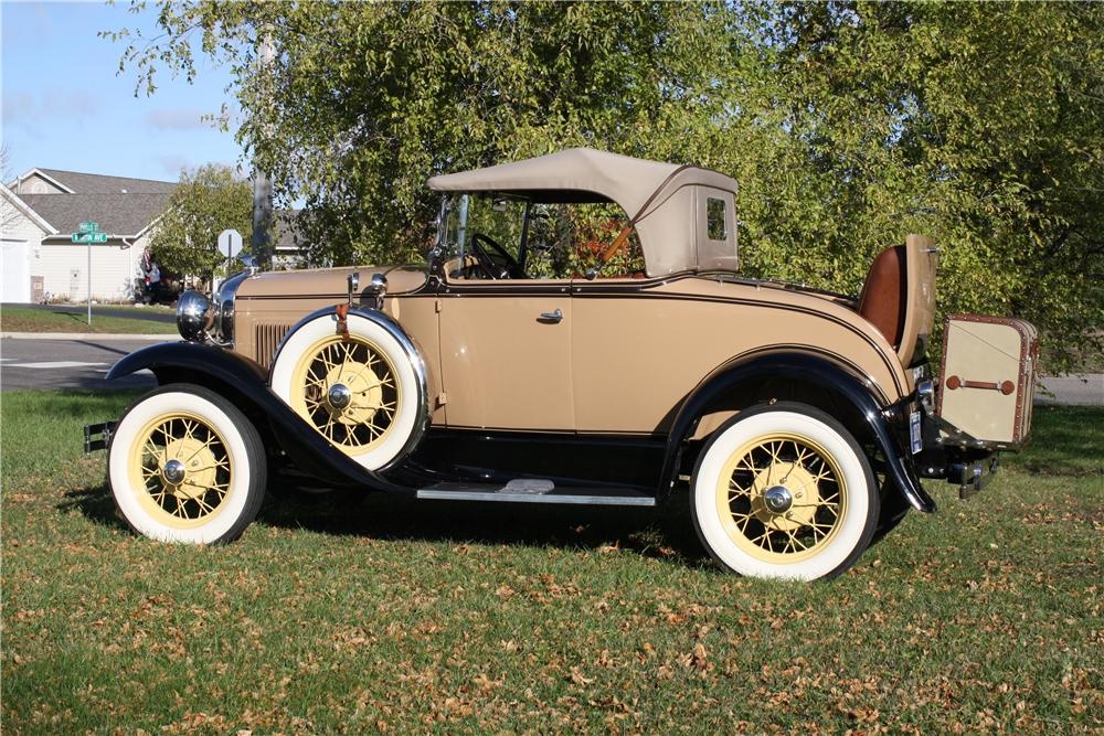 1931 FORD MODEL A ROADSTER - Side Profile - 161855