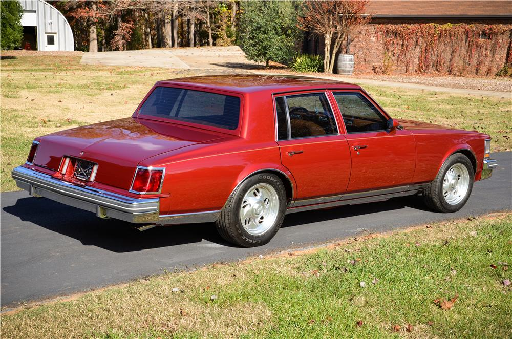 1979 Cadillac Seville Custom 4 Door Sedan 161858