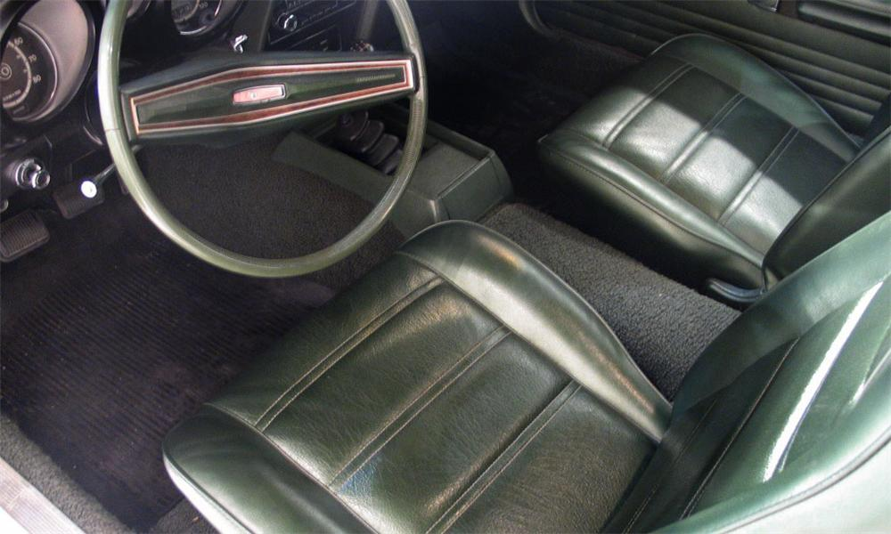 1972 FORD MUSTANG COUPE - Interior - 16186