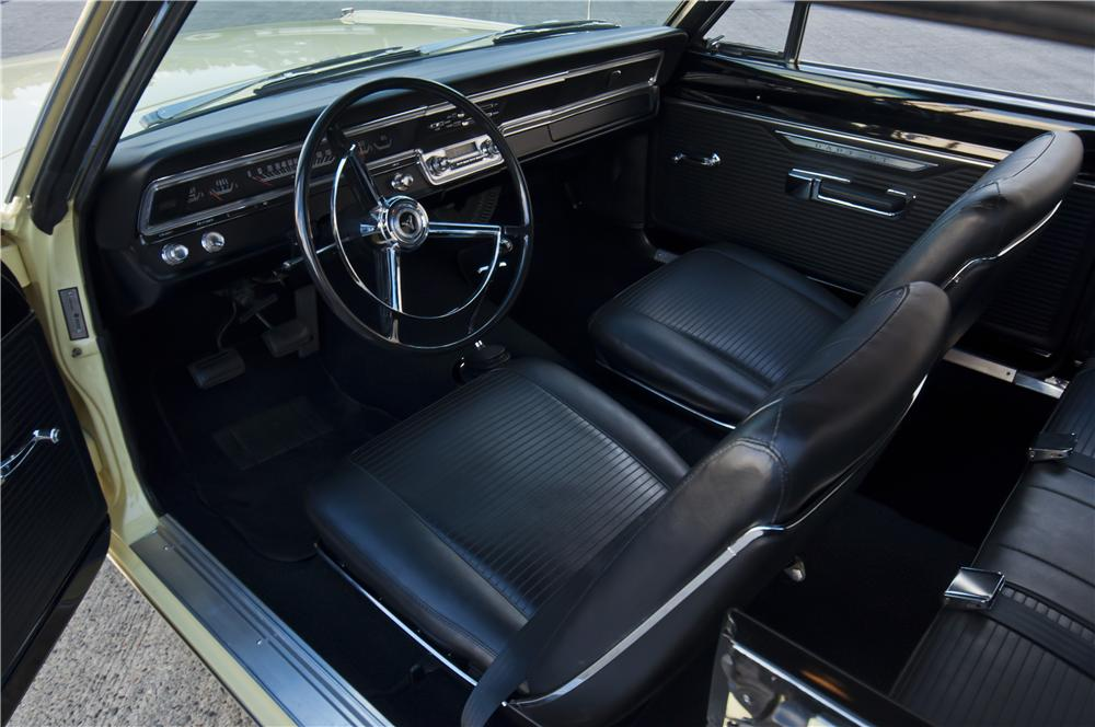 1967 DODGE DART GTS 2 DOOR HARDTOP - Interior - 161865