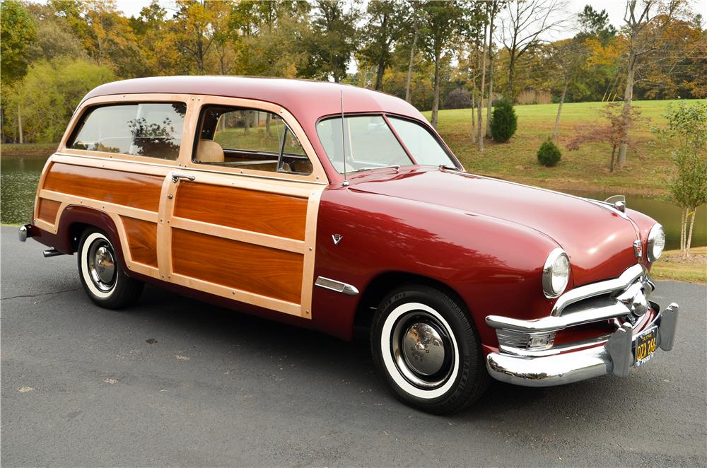 1950 FORD CUSTOM WOODY WAGON - Front 3/4 - 161869