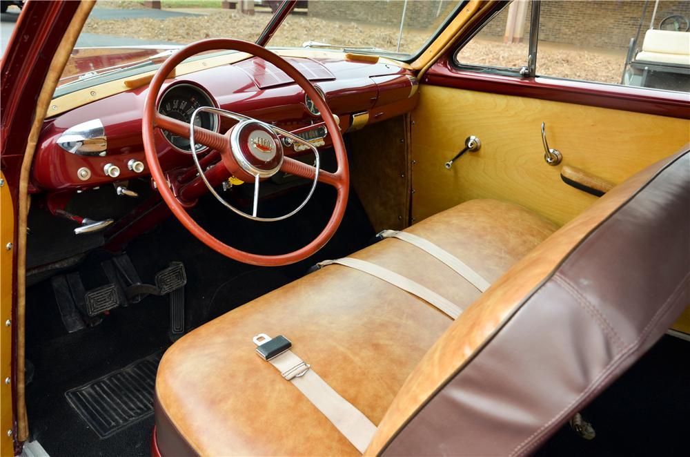 1950 FORD CUSTOM WOODY WAGON - Interior - 161869
