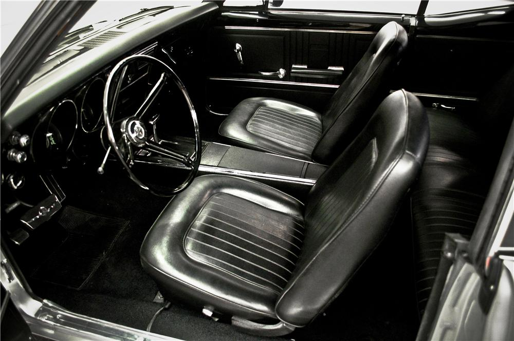 1967 CHEVROLET CAMARO CUSTOM 2 DOOR COUPE - Interior - 161875